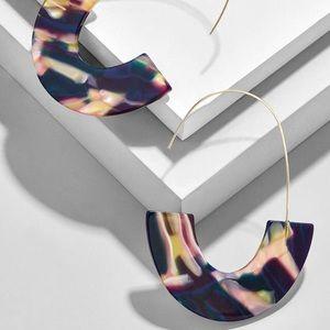 Jewelry - NEW Multicolored Acrylic Drop Earrings